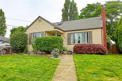 Tacoma Single Family Home For Sale: 3527 S Alaska St