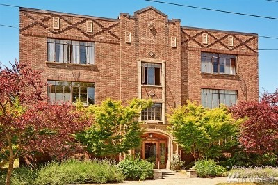 Seattle Condo/Townhouse For Sale: 3121 Franklin Ave E #G-B