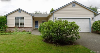 Puyallup Single Family Home For Sale: 15215 86th St E