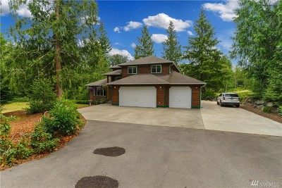 Stanwood Single Family Home For Sale: 8132 147th St NW