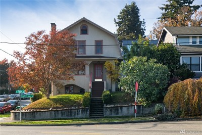 Seattle Single Family Home For Sale: 3601 Corliss Ave N