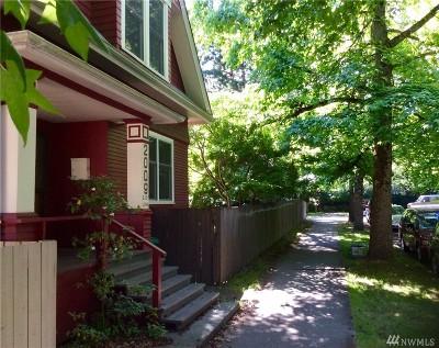 Seattle Residential Lots & Land For Sale: 2009 E John St