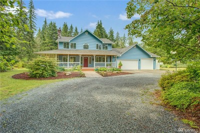 Woodinville Single Family Home For Sale: 15514 242nd St SE