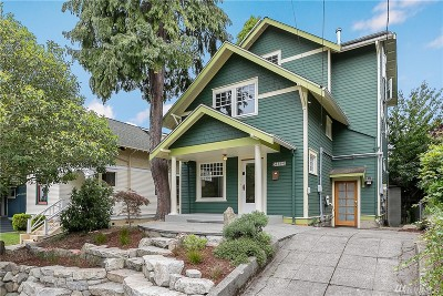 Seattle Single Family Home For Sale: 4123 Phinney Ave N
