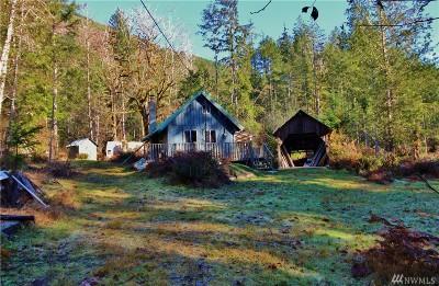 Brinnon Single Family Home For Sale: 2575 Duckabush Rd