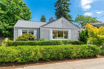 Seattle Single Family Home For Sale: 5724 37th Ave NE