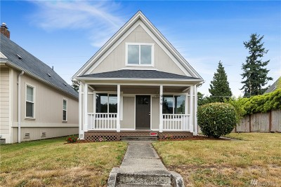 Tacoma Single Family Home For Sale: 919 S Cushman Ave