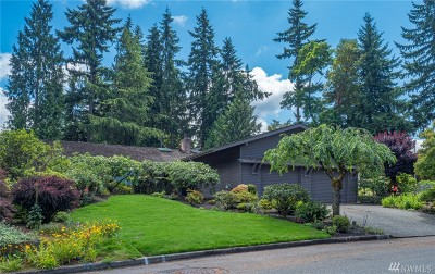 Bellevue Single Family Home For Sale: 12533 SE 51st St.