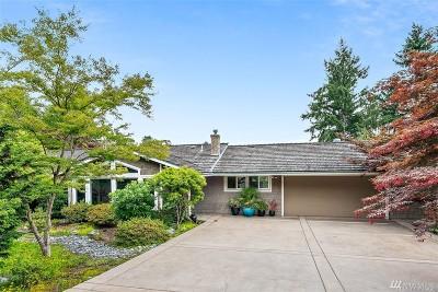 Medina Single Family Home For Sale: 2626 80th Ave NE