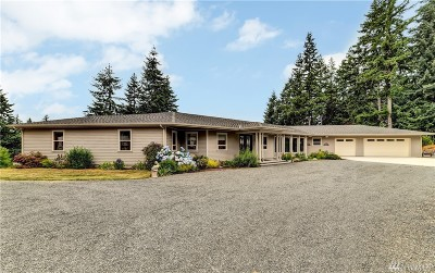 Stanwood Single Family Home For Sale: 4111 Peninsula Rd