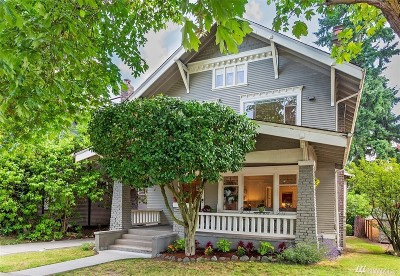 Seattle Single Family Home For Sale: 606 23rd Ave E