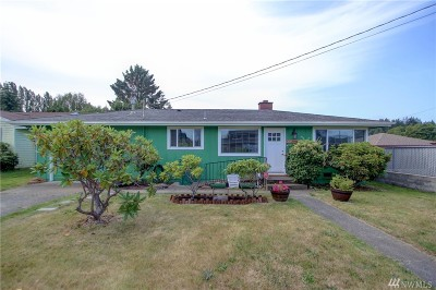 Anacortes Single Family Home Pending Inspection: 611 Hillcrest Dr