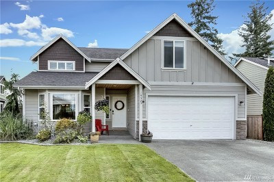 Spanaway Single Family Home For Sale: 19525 26th Av Ct E