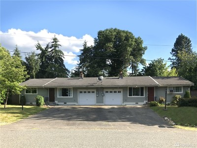 Edgewood Multi Family Home For Sale: 11416 43rd St Ct E