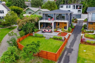 Seattle Single Family Home For Sale: 4611 Lake Washington Blvd S