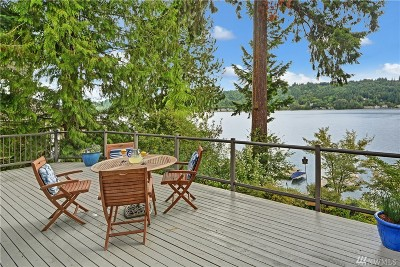 Redmond Single Family Home For Sale: 2434 W Lake Sammamish Pkwy NE
