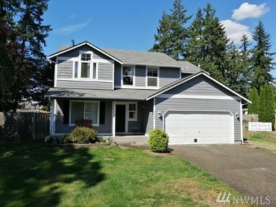 Spanaway Single Family Home For Sale: 6121 204th St Ct E