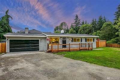 Burien Single Family Home For Sale: 14009 13th Ave SW