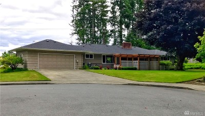 Olympia Single Family Home For Sale: 2307 Lilly Rd NE