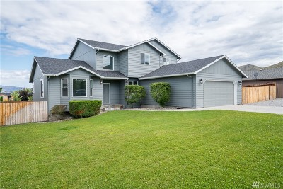 Wenatchee Single Family Home For Sale: 1631 Fuller St