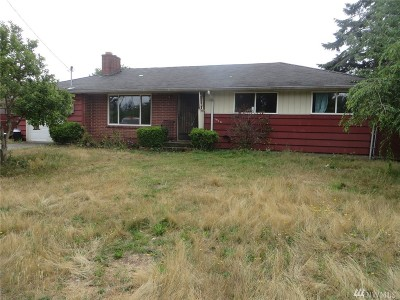 Tacoma Single Family Home For Sale: 1610 Lafayette St S