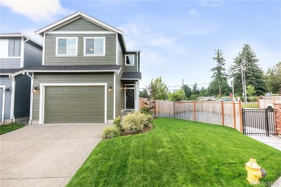 Puyallup Single Family Home For Sale: 7839 161st St E