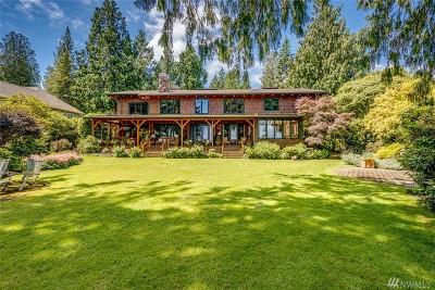 Bainbridge Island Single Family Home For Sale: 16790 Agate Point Rd NE