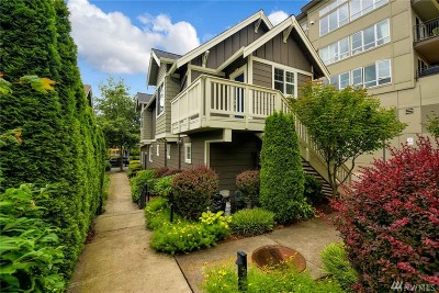 Issaquah Condo/Townhouse For Sale: 2501 NE Jared Ct