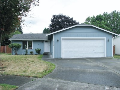 Lacey Single Family Home For Sale: 4516 Stikes Dr SE