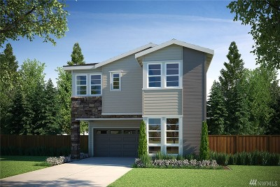 Bothell Single Family Home For Sale: 22225 43rd (Homesite North 16) Dr SE