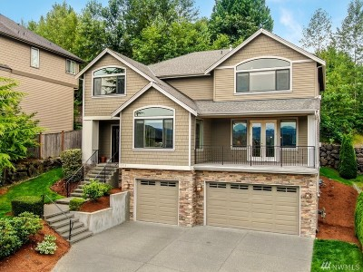 Issaquah Single Family Home For Sale: 1715 Pine View Dr NW