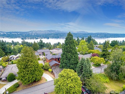 Mercer Island Single Family Home For Sale: 4232 94th Ave SE