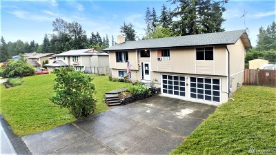 Bonney Lake Single Family Home For Sale: 21526 128th St E