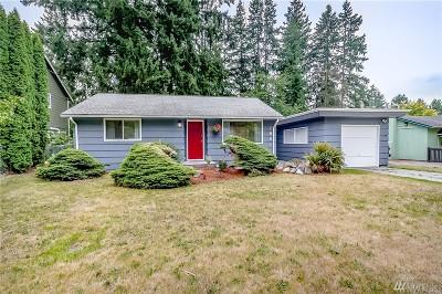 Shoreline Single Family Home For Sale: 1861 NE 169th St