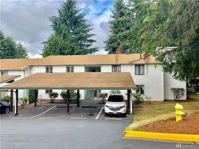 Federal Way Condo/Townhouse For Sale: 2020 SW 381th Place #3A
