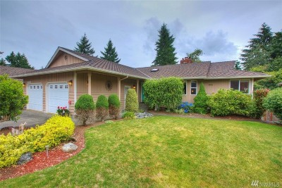 King County Single Family Home For Sale: 32406 11th Ave SW