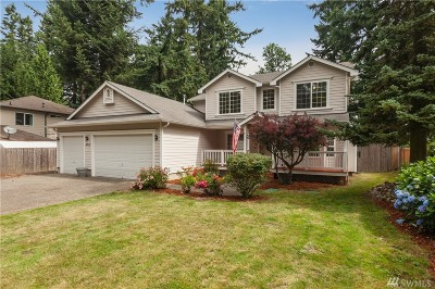 Lake Tapps Single Family Home For Sale: 4717 West Tapps Dr E