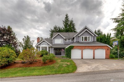 Renton Single Family Home For Sale: 17408 187th Place SE