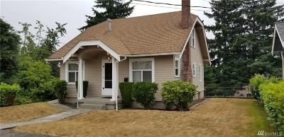 Tacoma Single Family Home For Sale: 707 N Lawrence