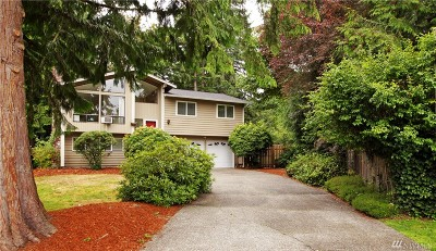 Kirkland Single Family Home For Sale: 11419 110th Ave NE