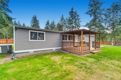 Spanaway Single Family Home For Sale: 22709 52nd Ave E
