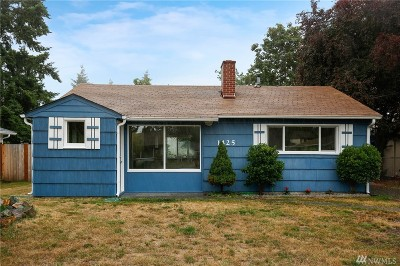 Tacoma Single Family Home For Sale: 1425 118th St S