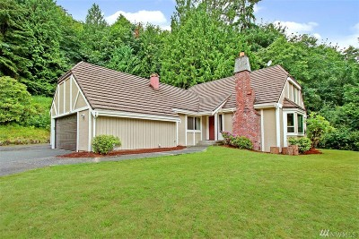 Issaquah Single Family Home For Sale: 18925 SE 64th Wy
