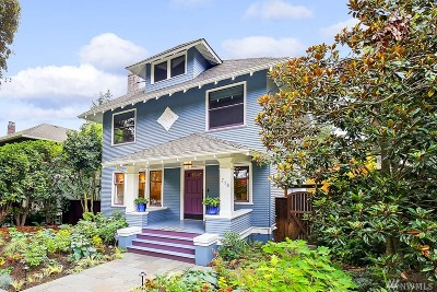 Seattle Single Family Home For Sale: 715 21st Ave E