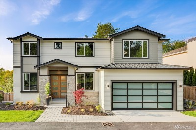Mercer Island Single Family Home For Sale: 8212 SE 28th St