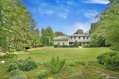 Bainbridge Island Single Family Home For Sale: 7001 NE Berganio Rd