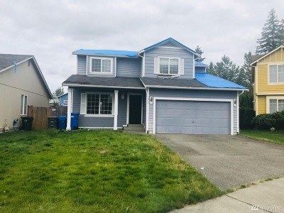 Spanaway Single Family Home For Sale: 1317 200th St Ct E