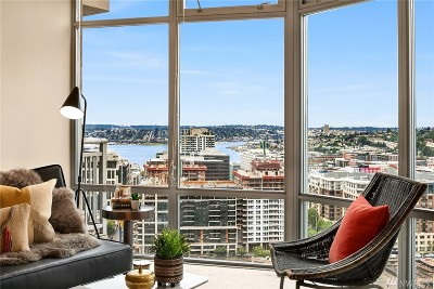 Seattle Condo/Townhouse For Sale: 819 Virginia St #2903