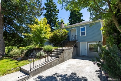 Seattle Single Family Home For Sale: 321 NE 133rd St