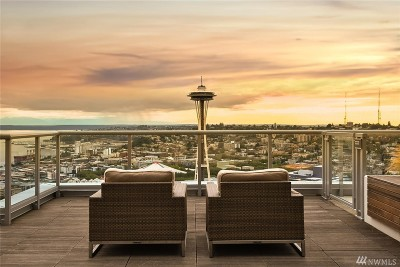 Seattle Condo/Townhouse For Sale: 583 Battery St #3001N
